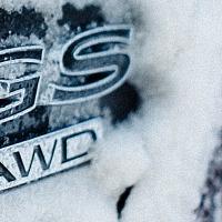 Black 2014 Buick Regal GS AWD Badge