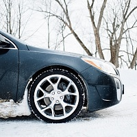 Black 2014 Buick Regal GS AWD Side