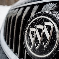 Black 2014 Buick Regal GS AWD Grill