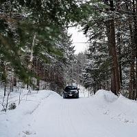 Black 2014 Buick Regal GS AWD Snow