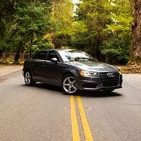 Grey 2015 Audi A3 2.0T