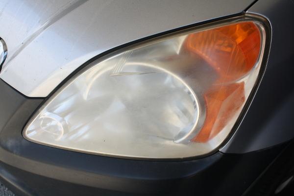 Honda CR-V Headlight Scratched