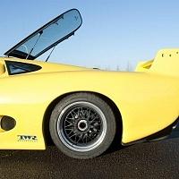 Yellow Jaguar XJ220 Rear TWR