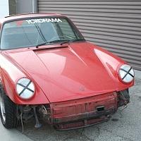Porsche Backdate Front