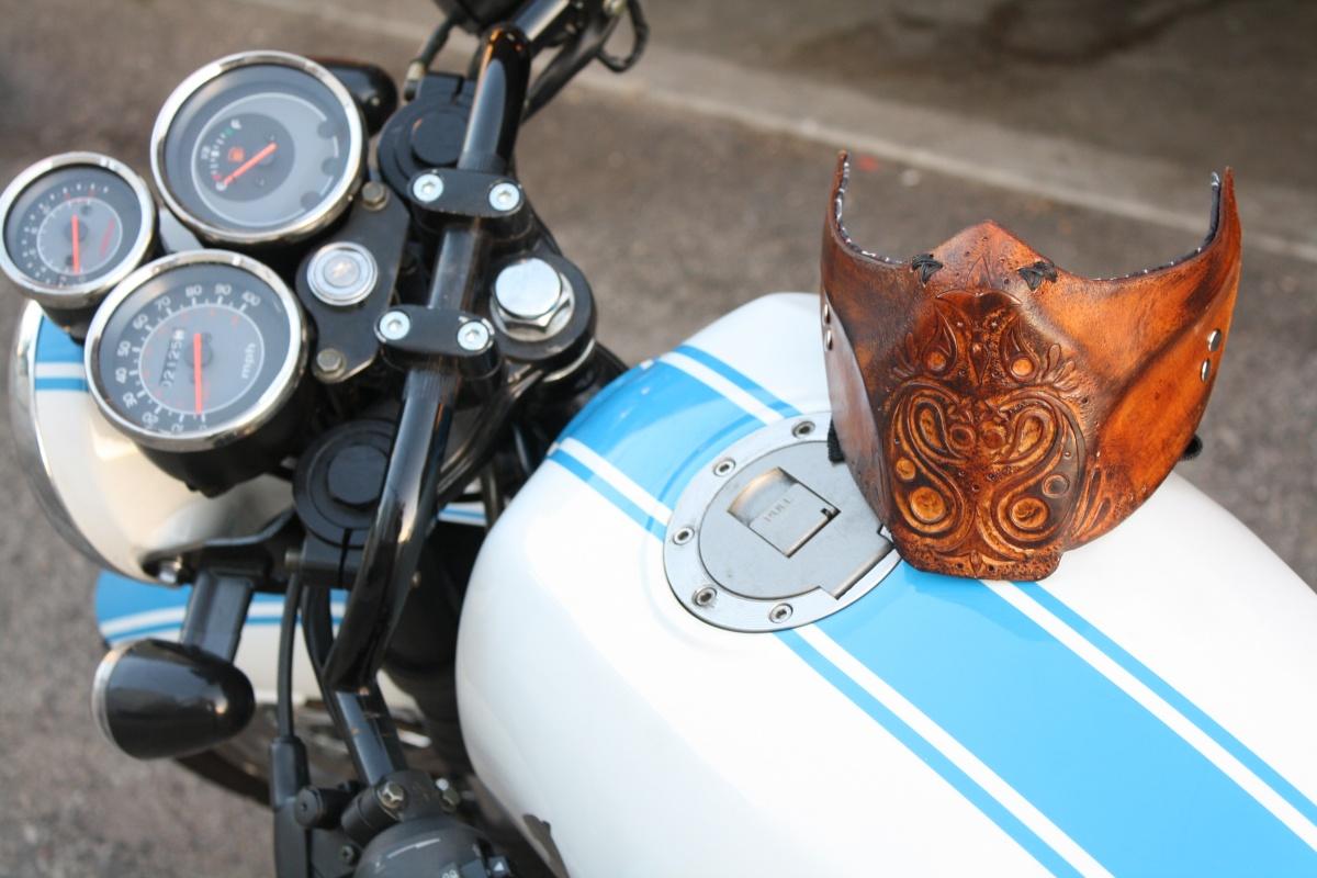 Weld Burn Motorcycle Mask