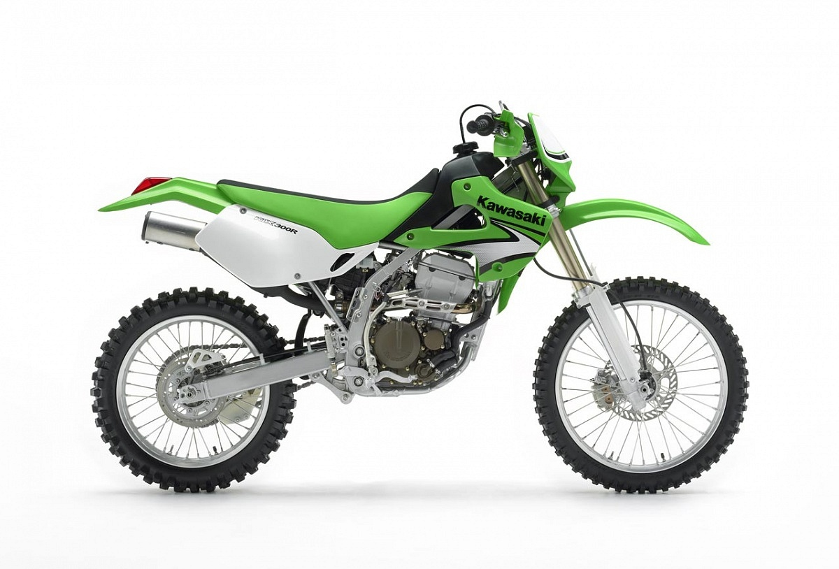 Kawasaki Custom KLX 300R Motorcycle Build