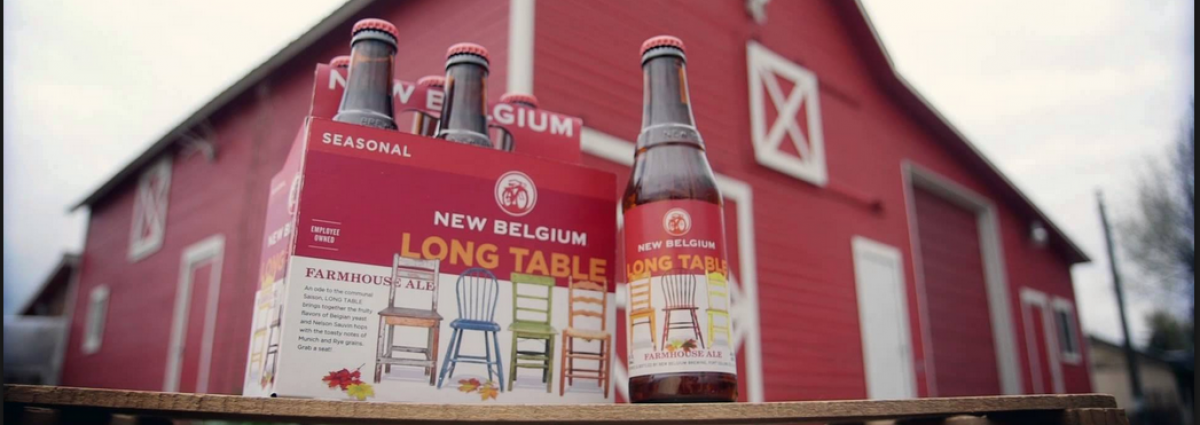 Long Table Farmhouse Ale from New Belgium Review