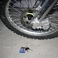 ABUS Granit Lock Installed