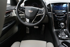 Cadillac ATS Interior White Leather