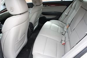 Cadillac ATS Rear Seat White Leather