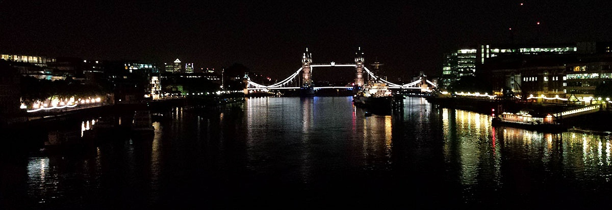 London Thames Night
