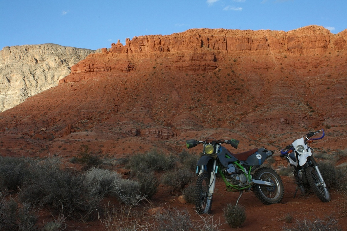 Overland Motorcycling Southern Utah