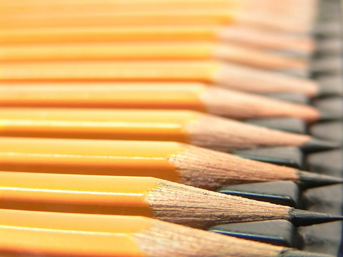 #1 pencil