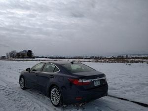 Blue 2016 Lexus ES Back