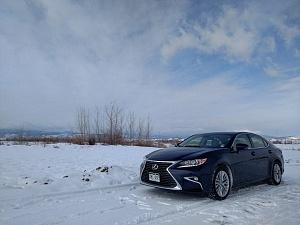 Blue 2016 Lexus ES