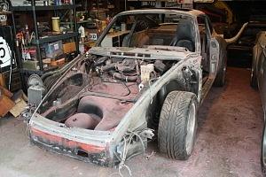Porsche backdate stripped paint