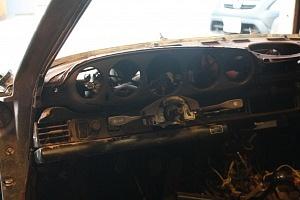 Porsche backdate stripped interior
