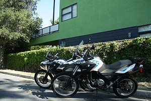 Overland Motorcycling