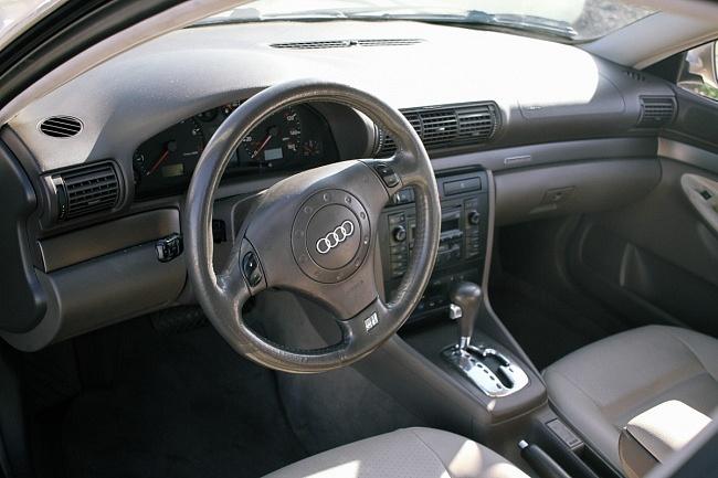 2001 Gold Audi A4 FactoryTwoFour