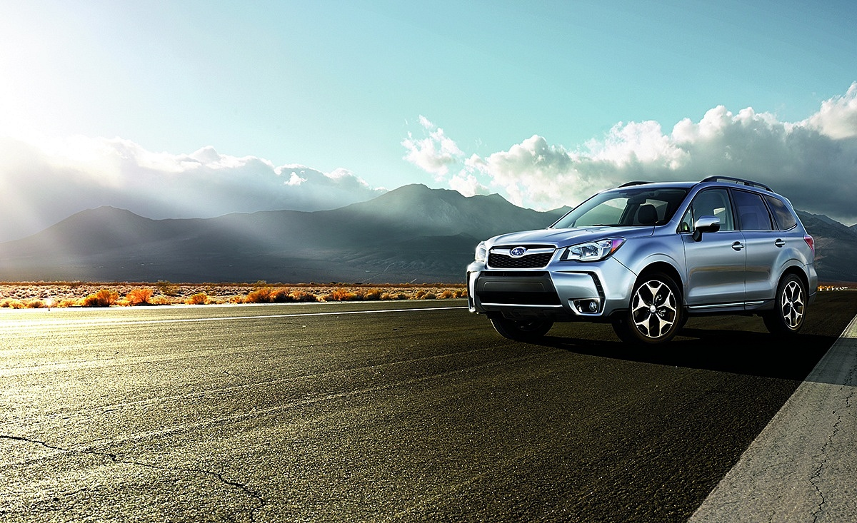 Silver 2016 Subaru Forester Front