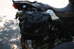 Wolfman Luggage Saddle Bags BMW G650 FactoryTwoFour