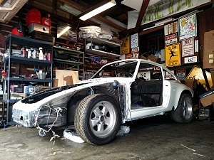 Porsche Backdate Grand Prix White
