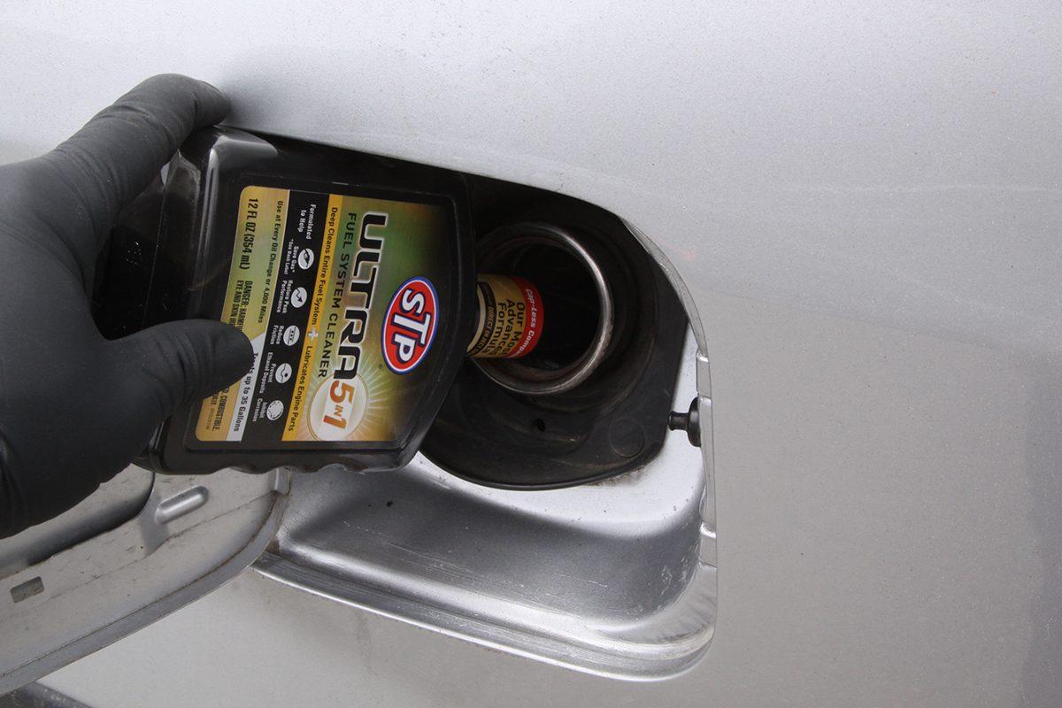 oil change fuel cleaner