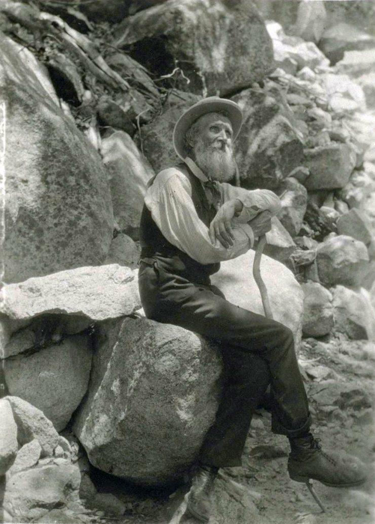 John Muir in 1907