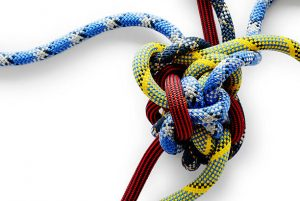 A complicated knot