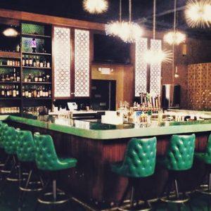 Bar at Ogie's Trailer Park, Providence
