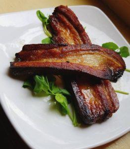 Slab Bacon at Milk Money, Providence
