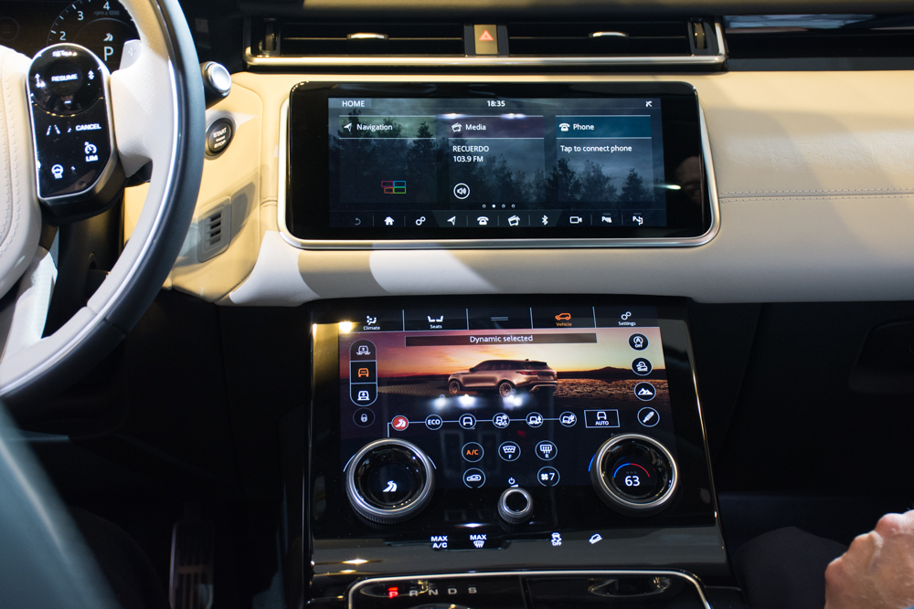drivin 39 l a with andrew chen range rover velar west coast debut. Black Bedroom Furniture Sets. Home Design Ideas