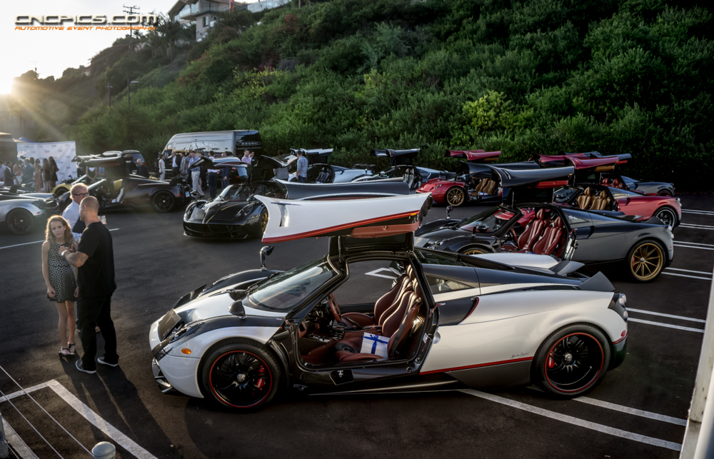 drivin' l.a. with andrew chen: pagani newport beach grand opening