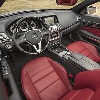 Silver 2014 Mercedes E550 Cabriolet Convertible