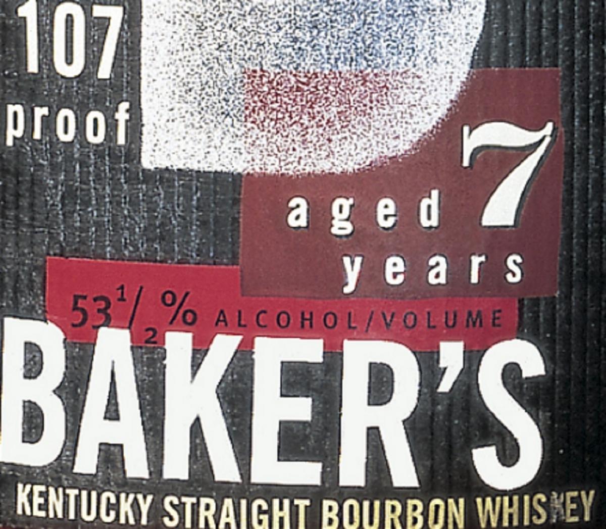 Bakers, bourbon, whiskey