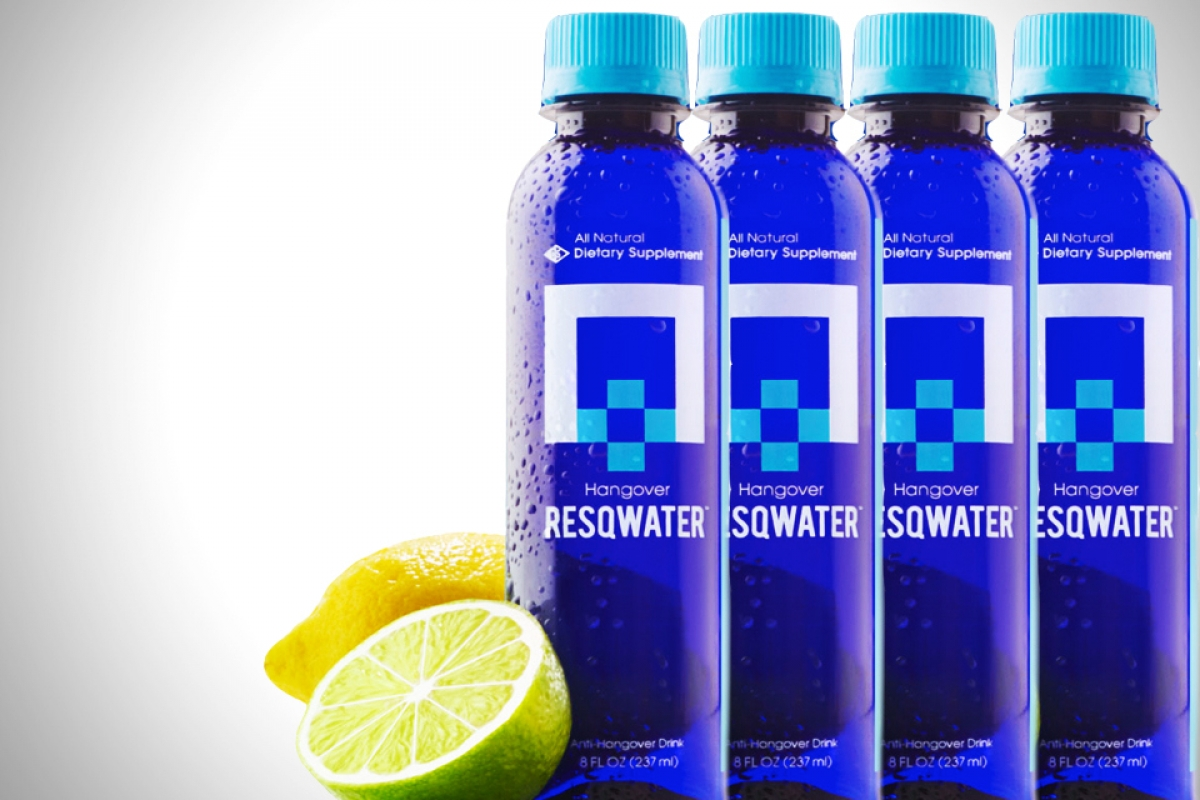 Resqwater-Anti-Hangover-Drink- Super Bowl