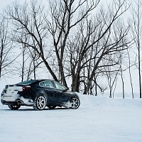 Black 2014 Buick Regal GS AWD In Snow