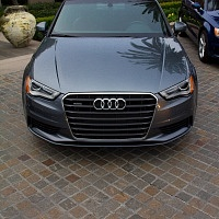Grey 2015 Audi A3 2.0T Front