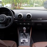 2015 Audi A3 2.0T Interior