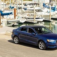 Blue 2015 Audi A3 2.0T