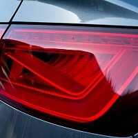 Grey 2015 Audi A3 2.0T Taillight