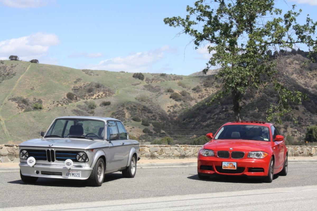1970 BMW 2002 and 2012 BMW 135i