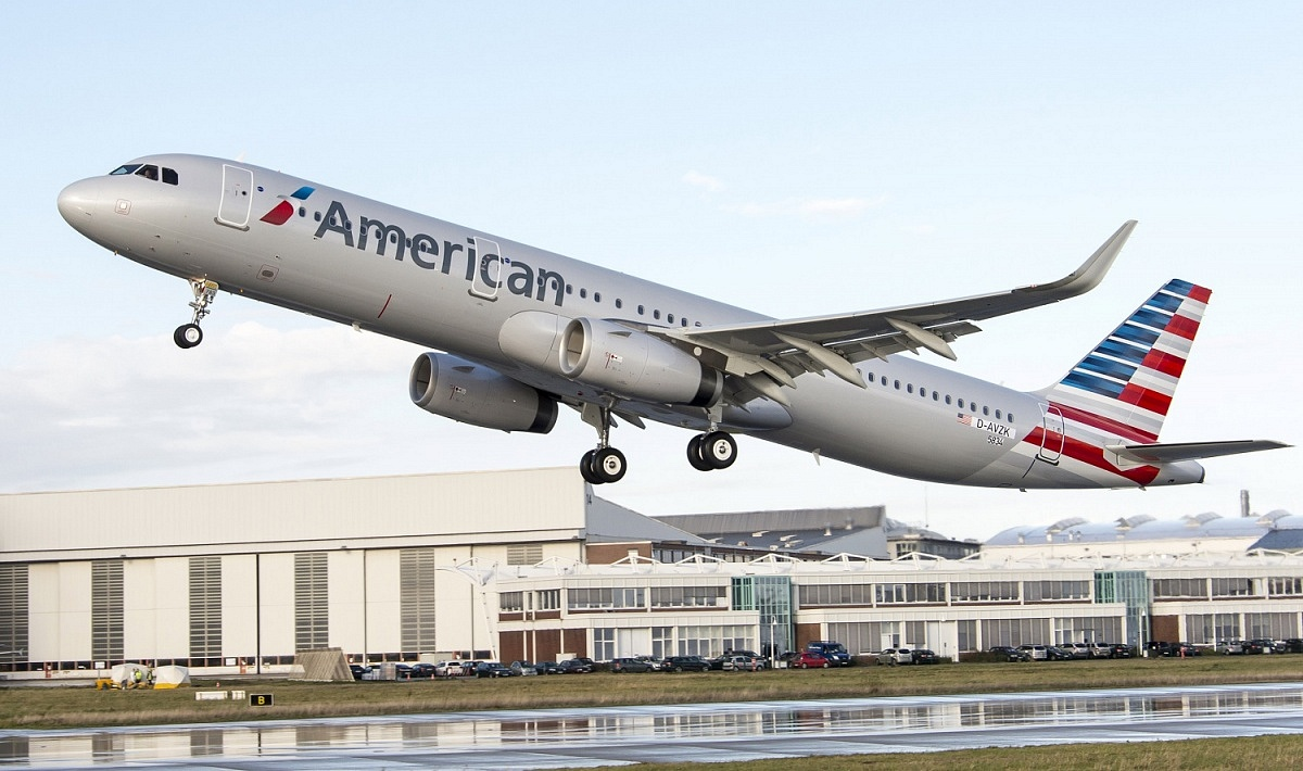 American Airlines, A321, Airbus, Transcontinental