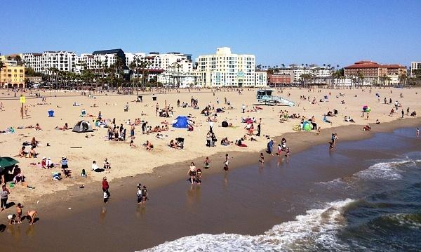California, LA, Los Angeles, Santa Monica