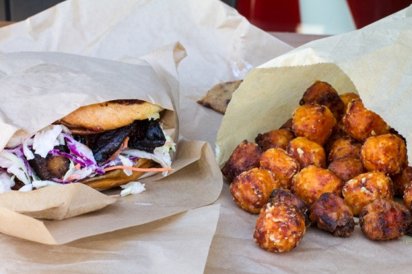Abbot Kinney Chop Daddy's Pork Belly and Tots