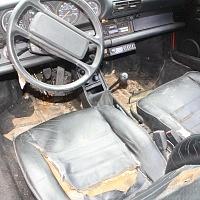 Porsche Backdate Interior