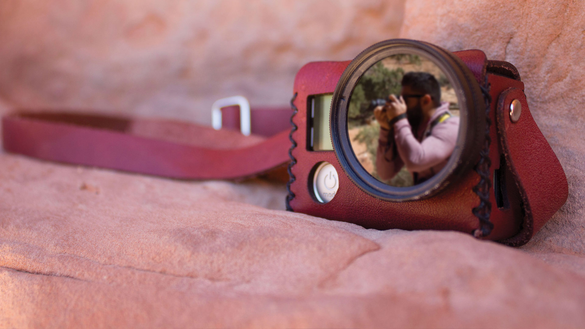 The Travler Leather GoPro Case