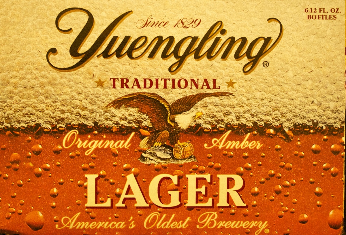 Yuengling Traditional Lager review label