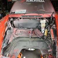 Porsche Backdate Project Paint Strip