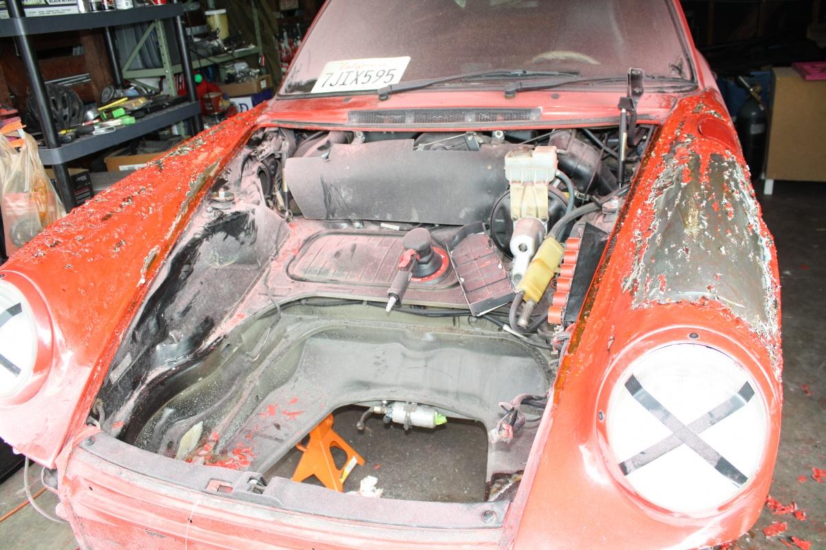 FactoryTwoFour Porsche Backdate Project Front Pan